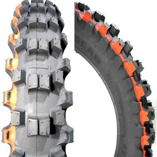 Anvelopa cross enduro MITAS 100 90-19 (57M) TT C18 MEDIUM TERRAIN NHS, Diagonal