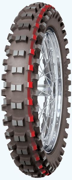 Anvelopa cross enduro MITAS 120 90-18 (65R) TT C18 COUNTRY CROSS YELLOW NHS, Diagonal