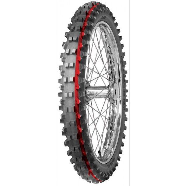 Anvelopa cross enduro MITAS 60 100-14 TT 30M C19 INTERMEDIATE TERRAIN RED Fata