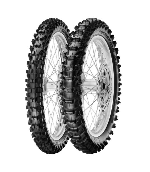 Anvelopa cross enduro PIRELLI 100 90-19 TT 57M SCORPION MX SOFT Spate