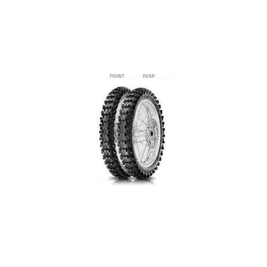 Anvelopa off-road Pirelli 2.75 - 10 37J NHS Scorpion MX Mid Soft 32 Spate