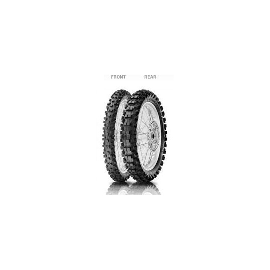Anvelopa cross enduro PIRELLI 60 100-14 TT 29M SCORPION MX EXTRA JR Fata