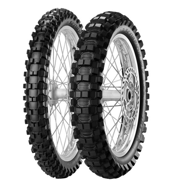 Anvelopa cross enduro PIRELLI 120 100-18 TT 68M SCORPION MX EXTRA X Spate