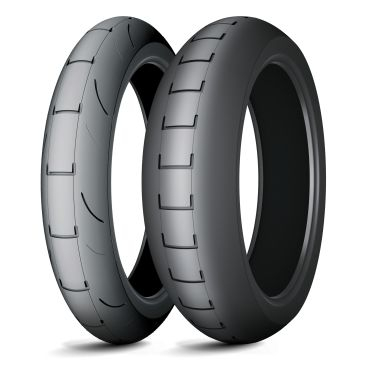 Anvelopa curse tip slick MICHELIN 120 75R16.5 TL POWER SUPERMOTO A Fata