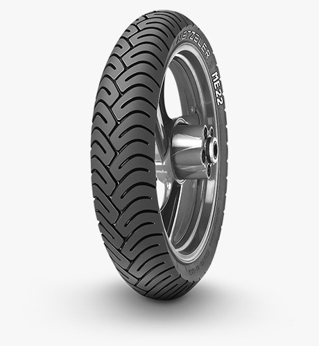 Anvelopa moto asfalt Metzeler Tire 3.00 - 17 50P reinf ME 22 Fata Spate