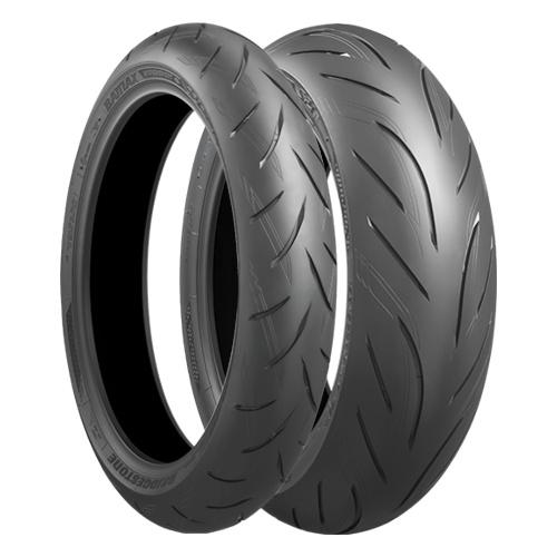 Anvelopa moto asfalt Sports tyre BRIDGESTONE 110 70ZR17 TL 54W S21 Fata