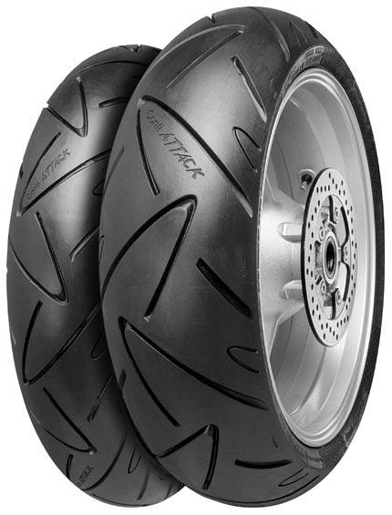 Anvelopa moto asfalt Sports tyre CONTINENTAL 190 50ZR17 TL 73W ContiSportAttack Spate