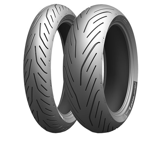 Anvelopa moto asfalt Sports tyre MICHELIN 160 60ZR17 TL 69W PILOT POWER 3 Spate