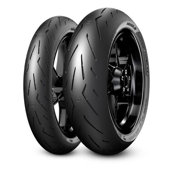 Anvelopa moto asfalt Sports tyre PIRELLI 200 55ZR17 TL 78W DIABLO ROSSO CORSA II Spate