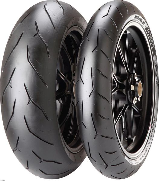 Anvelopa moto asfalt Sports tyre PIRELLI 190 55ZR17 TL 75W DIABLO ROSSO CORSA Spate