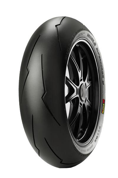 Anvelopa moto asfalt Sports tyre PIRELLI 190 55ZR17 TL 75W DIABLO SUPERCORSA V2 SP Spate