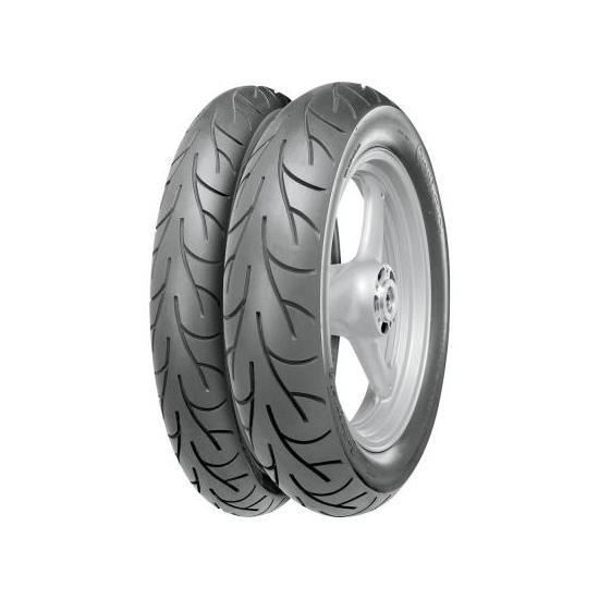 Anvelopa moto asfalt CONTINENTAL 80 100-17 TL 46P ContiGo! Fata Spate