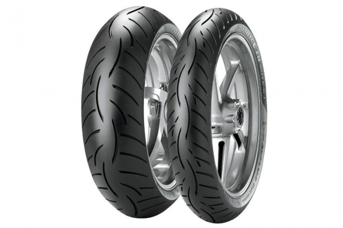 Anvelopa moto METZELER 150 70ZR17 TL 69W ROADTEC Z8 INTERACT Spate