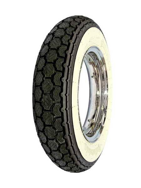 Anvelopa scuter Continental Tire 3.00 - 10 M C 50J TT K62 WW White s side